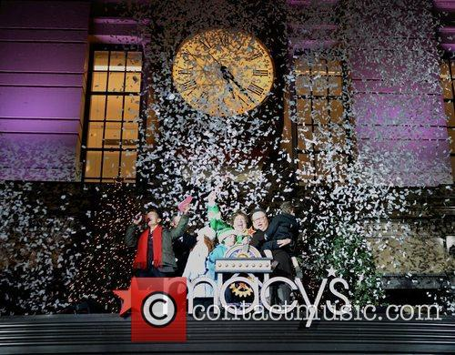 At Macy's Herald Square Christmas Window Unveiling Spectacular