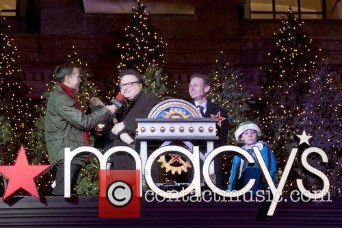 Wayne Knight at Macy's Herald Square Christmas Window...