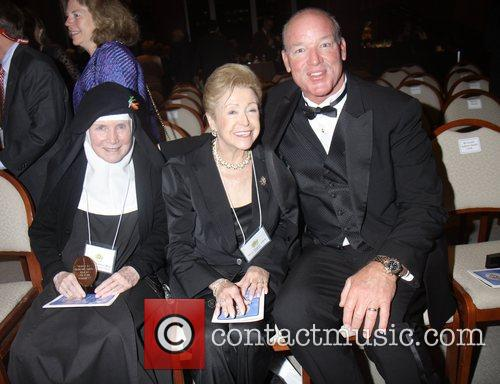 Marty Lyons, Mary Higins Clarke and Mother Dolores...