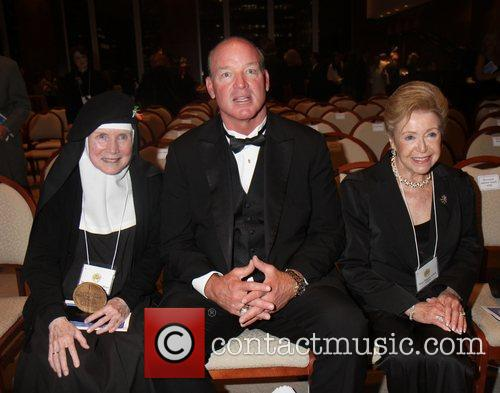 Mother Dolores Hart, Marty Lyons and Mary Higgins...