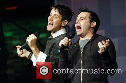 Joey Mcintyre and Mario Cantone 7