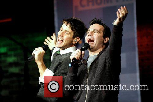 Joey Mcintyre and Mario Cantone 5