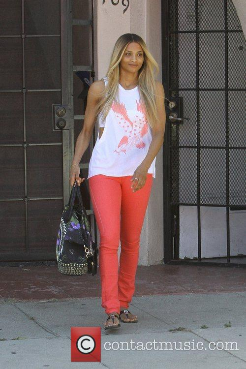 singer ciara seen out and about in 5881389