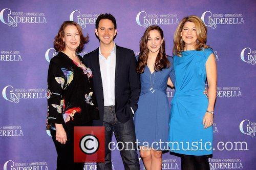 Harriet Harris, Santino Fontana, Laura Osnes and Victoria Clark 3