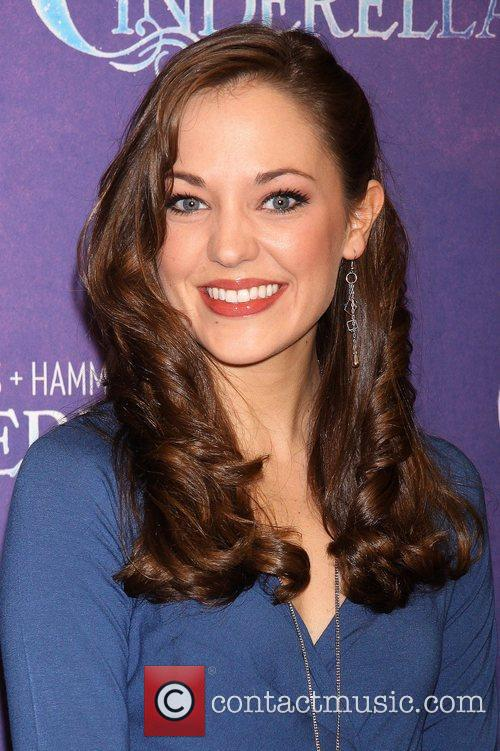 Laura Osnes Press day for the Rodgers +...