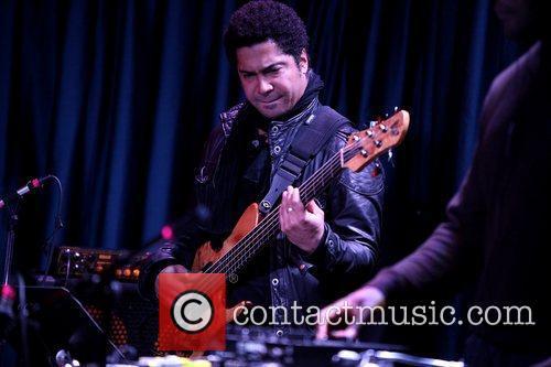 Performing live at The Iridium