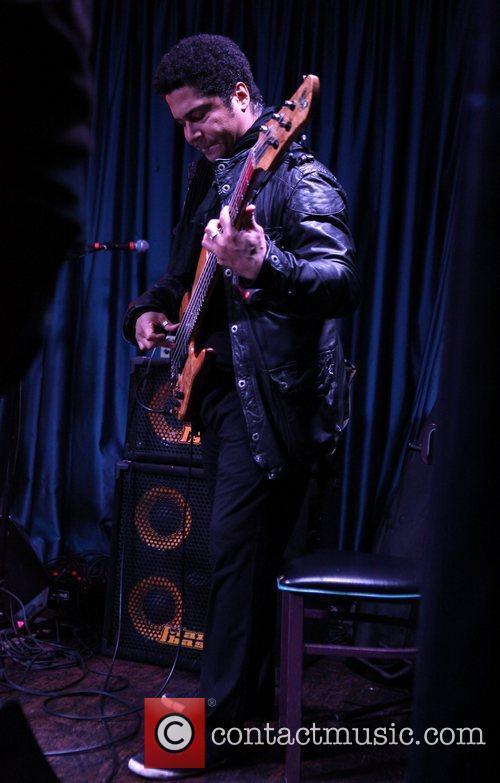 Matt Garrison performing live at The Iridium New...