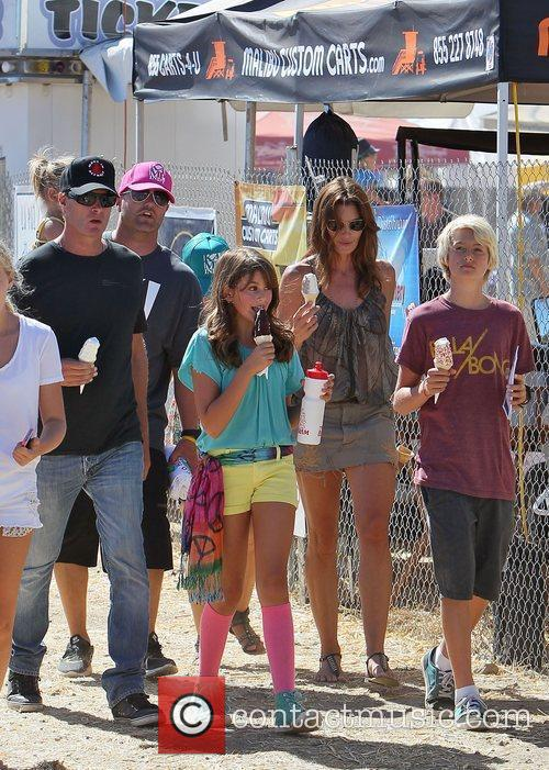 Cindy Crawford, Katie Price and Rande Gerber 4