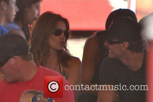 Cindy Crawford, Katie Price and Rande Gerber 5