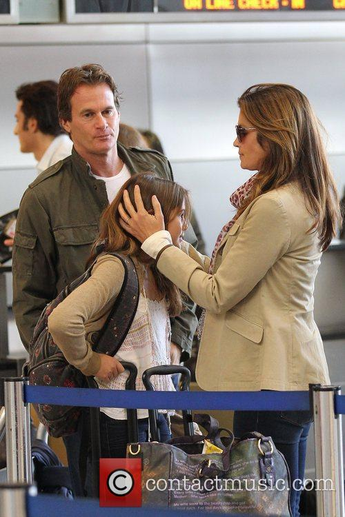 Cindy Crawford, Rande Gerber, Presley Walker and Kaia Jordan 4