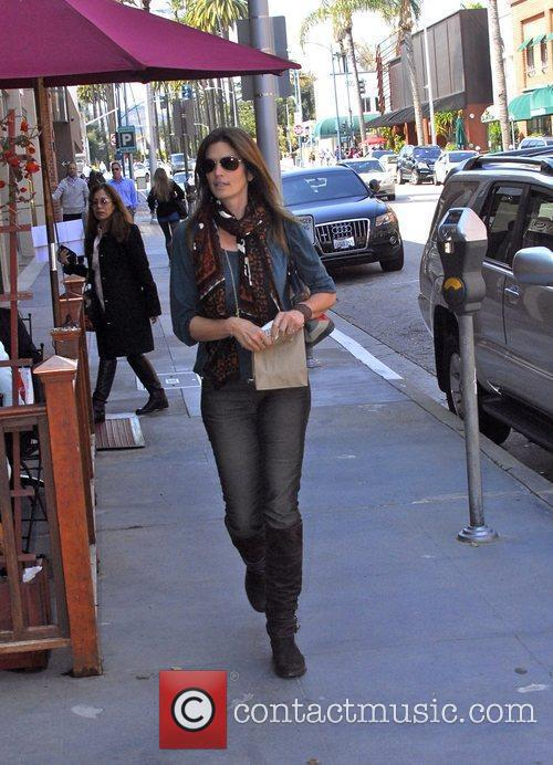 Cindy Crawford out and about in Beverly Hills...