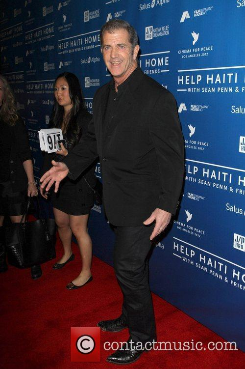 Mel Gibson Cinema For Peace Event Benefitting J/P...
