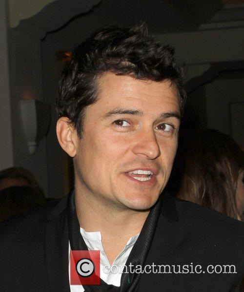 Orlando Bloom Cinema For Peace Event Benefitting J/P...