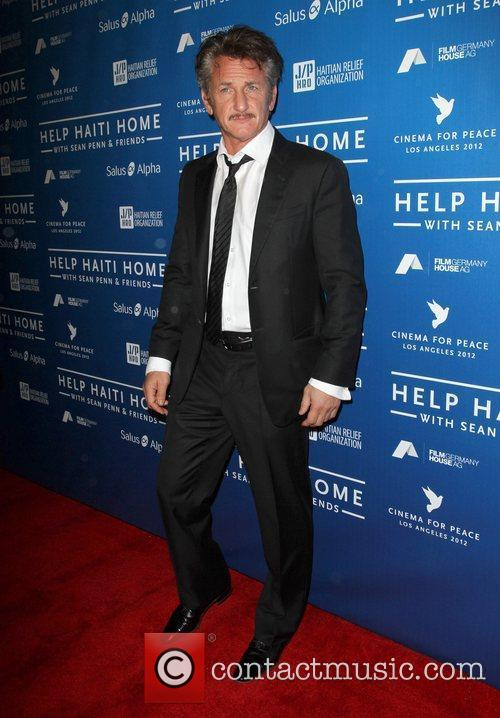 Sean Penn Cinema For Peace Event Benefitting J/P...