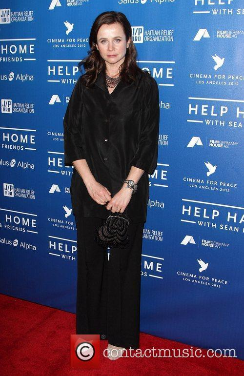 Emily Watson Cinema For Peace Event Benefitting J/P...