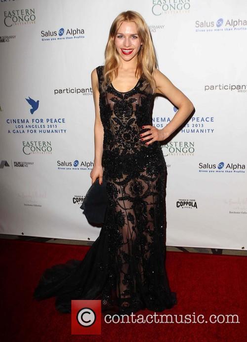 Julia Dietze Cinema For Peace Foundation's 2013 Gala...