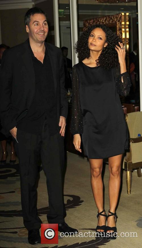Thandie Newton and Ol Parker 6