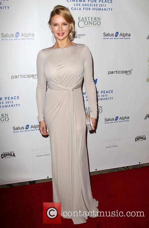 Veronica Ferres Cinema For Peace Foundation's 2013 Gala...
