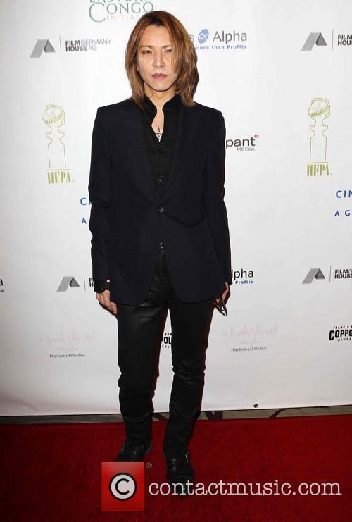 Yoshiki Cinema For Peace Foundation's 2013 Gala For...