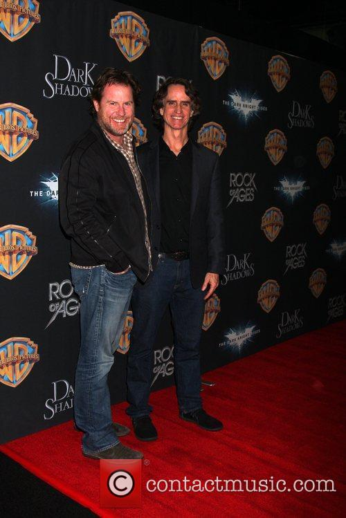 Chris Henchy and Jay Roach arrives at the...