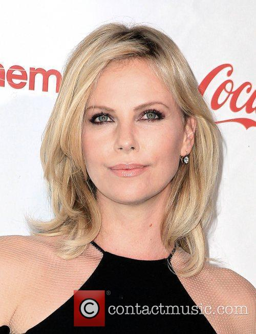 Charlize Theron, recipient of the Distinguished Decade of...