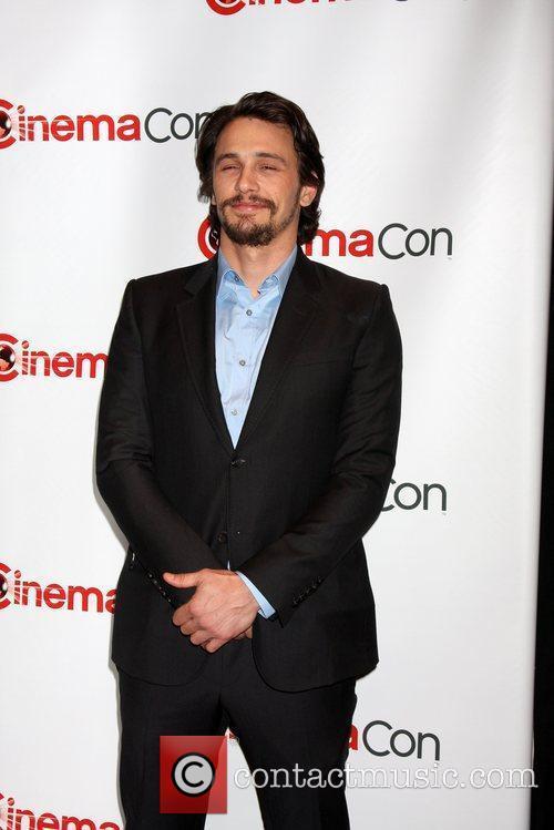 James Franco arrives at the 2012 CinemaCon held...