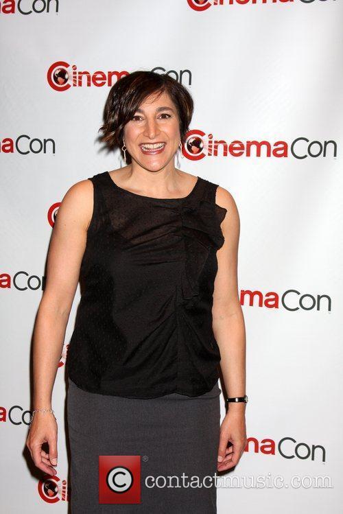 Katherine Sarafian arrives at the 2012 CinemaCon held...