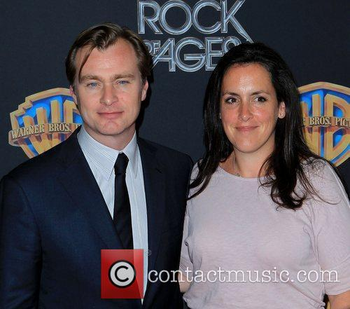 Christopher Nolan, Emma Thomas and Caesars Palace 4