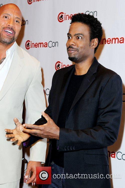 Dwayne Johnson, Chris Rock and Caesars Palace 4