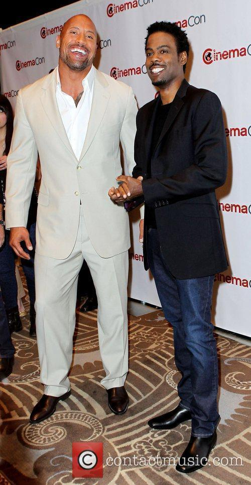 Dwayne Johnson, Chris Rock and Caesars Palace 6