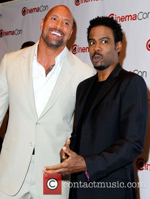 Dwayne Johnson, Chris Rock and Caesars Palace 7