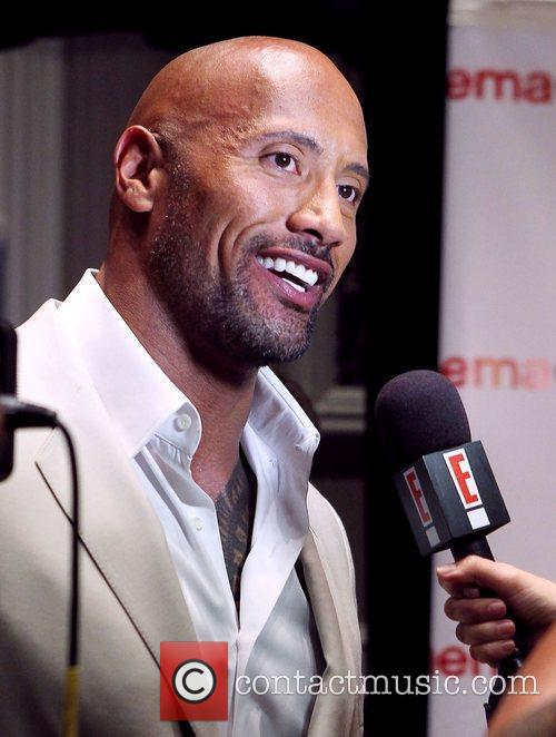 Dwayne Johnson Paramount Pictures Host Opening Night Presentation...