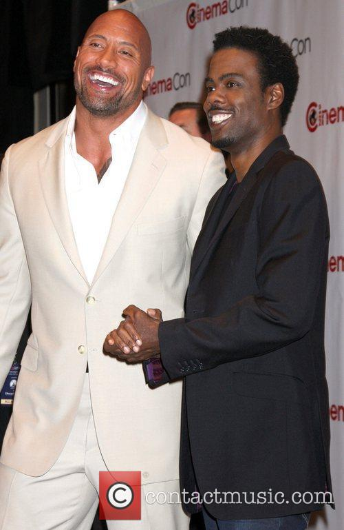 Dwayne Johnson and Chris Rock 3