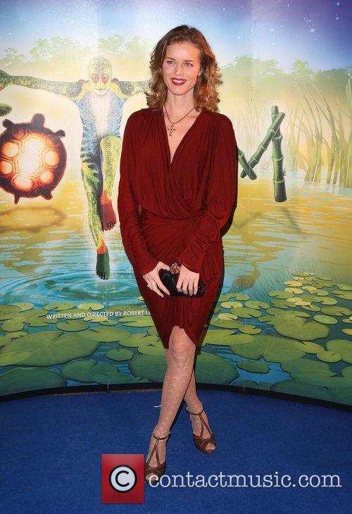 Eva Herzigova 'Cirque du Soleil: TOTEM' premiere at...