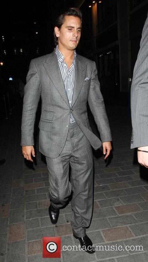 Scott Disick Celebrities enjoy a night at Cirque...