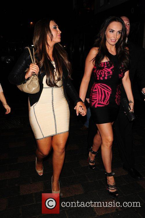 Tamara Ecclestone and Lauren Goodger 3