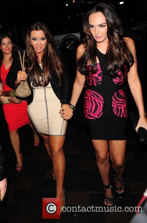 Tamara Ecclestone and Lauren Goodger 5