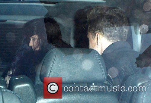 Katy Perry and Robert Ackroyd Celebrities leave Cirque...
