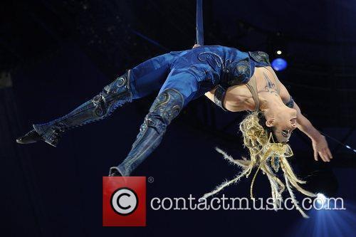 Aerial Straps  Cirque Du Soleil 'Amaluna' dress...