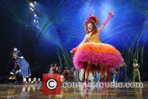 Jeeves and Deeda  Cirque Du Soleil 'Amaluna'...