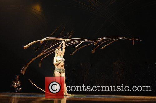Manipulation  Cirque Du Soleil 'Amaluna' dress rehearsal....