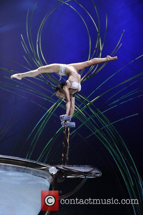 Miranda in Waterbow  Cirque Du Soleil 'Amaluna'...