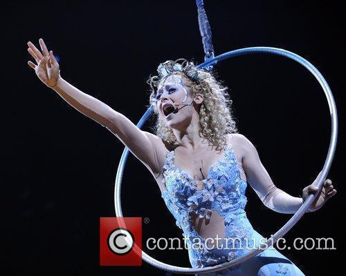 Cirque Du Soleil 'Amaluna' dress rehearsal.