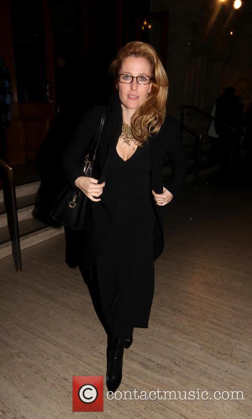 Gillian Anderson and Royal Albert Hall 6