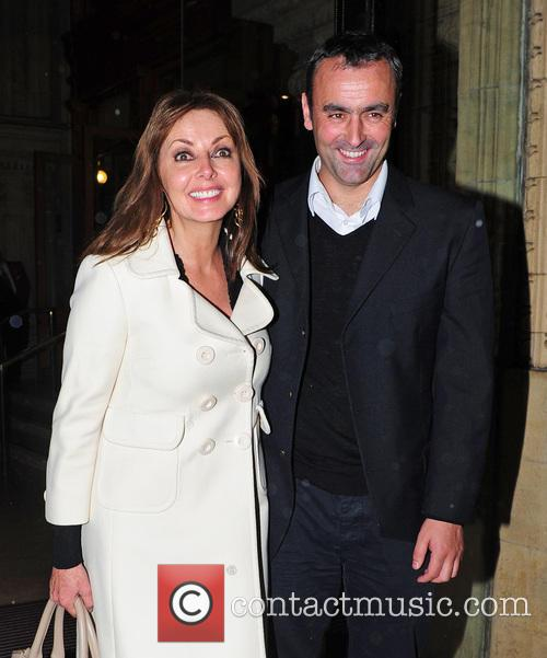 Carol Vorderman, Graham Duff and Royal Albert Hall 6