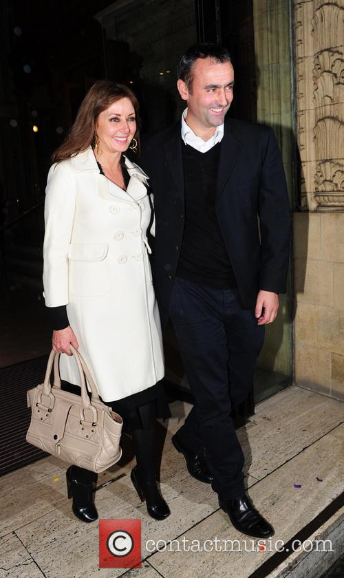 Carol Vorderman, Graham Duff and Royal Albert Hall 3