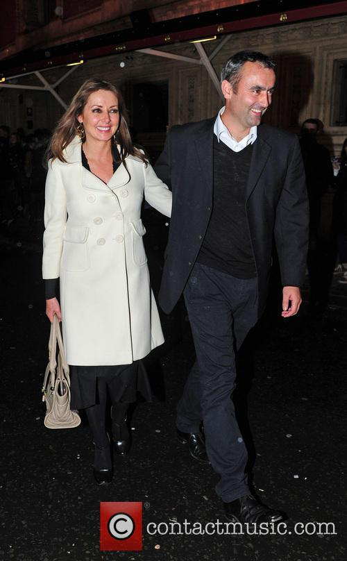Carol Vorderman, Graham Duff and Royal Albert Hall 4
