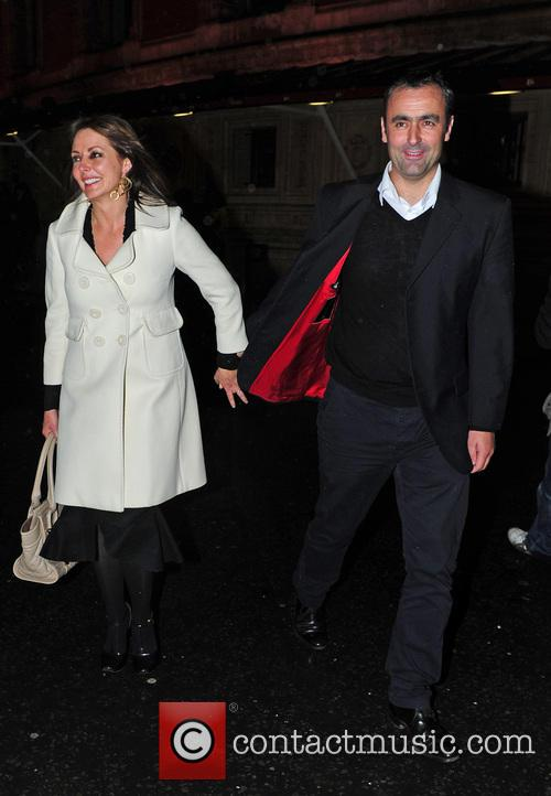 Carol Vorderman, Graham Duff and Royal Albert Hall 2