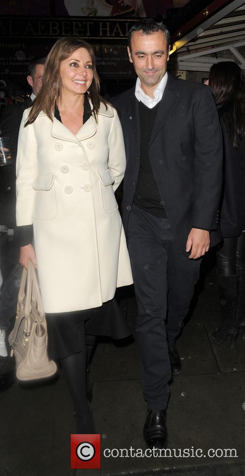 Carol Vorderman, Graham Duff and Royal Albert Hall 10