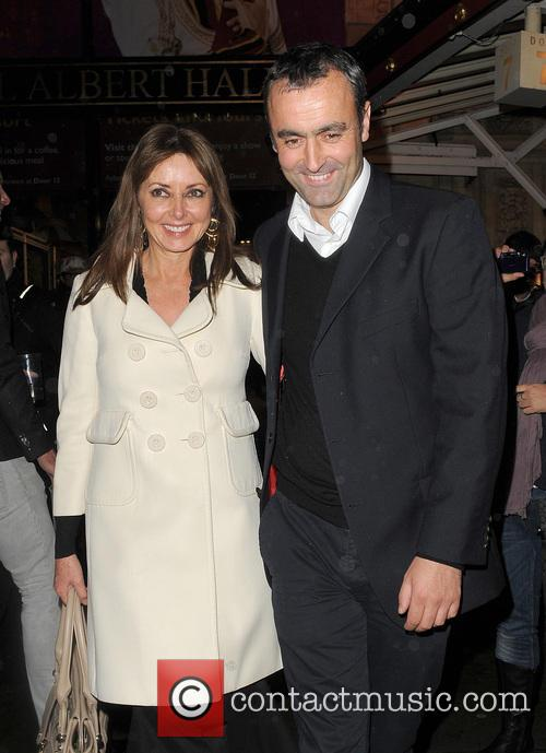 Carol Vorderman, Graham Duff and Royal Albert Hall 1
